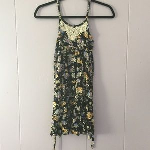 Justice Girly Floral Dress